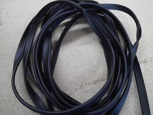 (€ 6,99/ m) 6 mtr schwarzer Keder zum Einnähen oder Antackern 5 mm dm