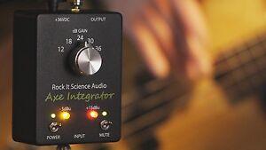 Axe Integrator Brand New, All-Discrete Guitar-Bass preamp with Jensen xfmr.