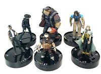 EUC Wizkids Shadowrun Duels Figures Lot of 6 Collection Rarely Used
