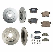 Fits Honda Accord 3.5l 2014 Left and Right Brake Rotor and Set of 2 Brake Pads