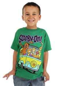 Scooby Doo Mystery Machine Kids T-Shirt