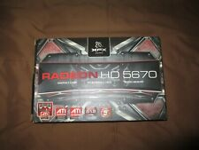 XFX HD5670 DDR5 512MB Graphics card NEW and Tested
