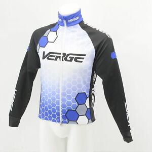Verge Men's Small Thermal Cycling Winter Jacket Blue/Black/White