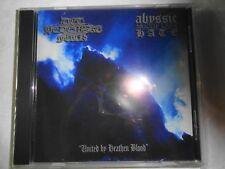 Det Hedenske Folk / Abyssic Hate - United by Heathen Blood  CD