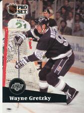 New listing Wayne Gretzky 1991-92 Pro Set French #101 Kings Hockey Card