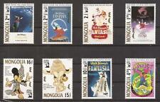 Disney _ Set of 8 Stamps _ MNH