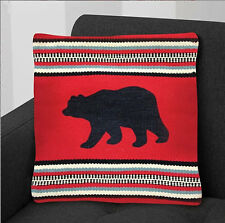 "Virah Bella® ""Red Bear"" Lodge Accent Pillow"