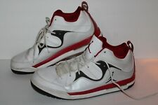 Nike Jordan Flight TR '97 Mid Basketball Shoes, #574417-101, Wht/Red/Bk, Mens 13