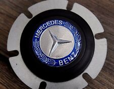 Mercedes Benz Badge Horn Button Fits MOMO RAID SPARCO NRG OMP Steering wheel