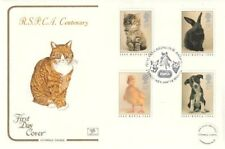 23 JANUARY 1990 RSPCA CENTENARY COTSWOLD FIRST DAY COVER HORSHAM SHS