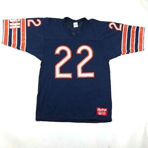Vintage 90s Chicago Bears #22 Matt Forte Mens L Football Jersey Blue Orange NWT