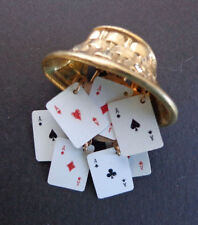 Fur Clip/Willard Markle design Playing Cards, 7 Aces in a Basket INV2448