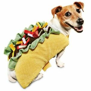 Bootique Taco 'Bout It Dog Costume CLOTHING OUTFIT