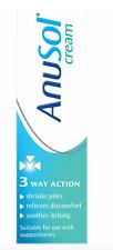 Anusol Haemorrhoids Relief Treatment Cream Piles - 43g  ** SAME DAY DISPATCH **