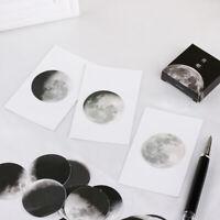 45 Pcs/box Decoration Moon Mini Paper Sticker Diary Bookmarks Label Sticker DIY