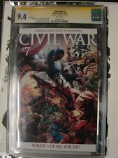 civil war #7 Michael Turner variant CGC 9.4 signed by Joe Quesada