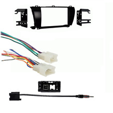 Metra 2DIN Stereo Install Dash Kit For 2014 2015 Toyota Corolla Antenna +Harness