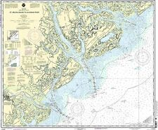 NOAA Chart St. Helena Sound to Savannah River 27th Edition 11513