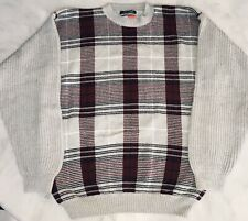 Tommy Hilfiger Crew Neck Thick Knit Multicollor Medium Sweater