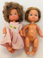 Mattel Baby Dolls Heart Family Boy & Girl Toddler Doll Vintage Girl Toys Cute