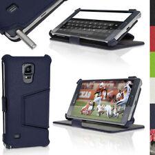 Custodie preformate/Copertine blu per Samsung Galaxy Note 4