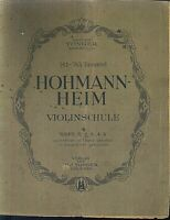 HOHMANN-HEIM ~ Violinschule Heft 2
