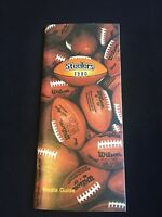 1980 PITTSBURGH STEELERS MEDIA GUIDE Yearbook 1979 NFL CHAMPIONS Super Bowl
