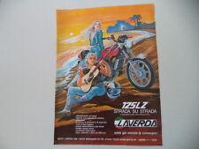 advertising Pubblicità 1979 MOTO LAVERDA LZ 125