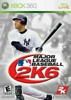 Major League Baseball 2K6 - Microsoft Xbox 360 X360 Game