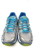 Asics Gel Nimbus 16 T485N Women's Athletic Running Shoes Gray Blue Silver Sz 7