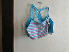 NWT~ 3 PK. WOMEN'S BEST FORM, RACERBACK SPORTS BRA SZ. 40, A/B/C CUP. BASE LAYER