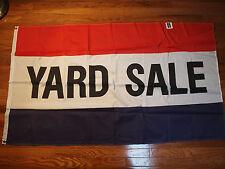 3' x 5' Polyester Flag-Yard Sale- New