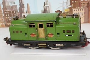 Vintage Prewar Lionel Standard Gauge No.318E Pea Green Electric Engine