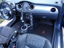 Mini Cooper S JCW Clubman  Aluminum Metal  floor mats Made to order