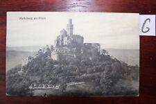 Postkarte Ansichtskarte Rheinland-Pfalz Marksburg am Rhein