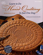 Learn How to Hand Quilting In One Day (Revised - in Color) Quilting Pattern Book