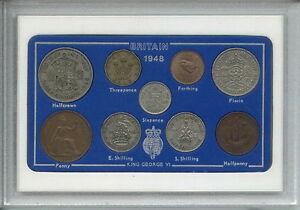 1948 Vintage Coin Set 73rd Birthday Birth Year Present Wedding Anniversary Gift