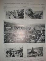 Photo Article on Sarajevo Bosnia in 1914