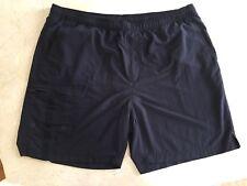 00dc709210 TOMMY BAHAMA Relax Men's Black Nylon Mesh Lined Drawstring Swim Trunks XXL