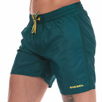Mens Diesel BMBX Sandy 2.017 Swim Shorts in Teal.