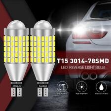 2x cree 921 912 T10 T15 LED 6000K HID 1600LM Blanco Bombillas inversa de respaldo Reino Unido