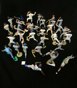 Lot of 31 MLB Baseball Figurines Reds Yankees Cubs Red Sox etc Starting Lineup?