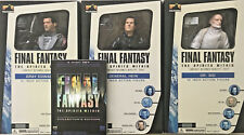 Final Fantasy Action Figure Set SQUARE Spirits Within  + DVD Movie 30cm SONY PS4