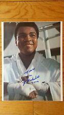 Muhammad Ali Signed 8x10 - LOA - Guaranteed to Pass WBC PSA JSA
