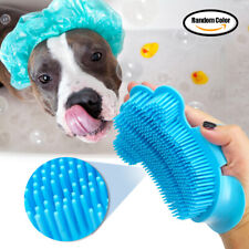 Dog Grooming Brushes for Long & Short Hair Rubber Glove Detangling Massage Comb