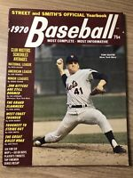 1970 Street and Smith's Official Yearbook NEW YORK Mets TOM SEAVER 128 Pages