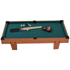 36 Mini Table Top Pool Billiard Set Cues Gift Indoor Sports