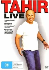 Tahir - Tahir Live - New & Sealed Region 4 DVD - FREE POST