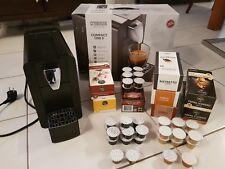 Cremesso Compact One II mit 150 Kapseln - Kaffeekapselmaschine schwarz