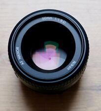 NIKON AF NIKKOR 50mm / 1:1,8 D – absolut neuwertig - OVP